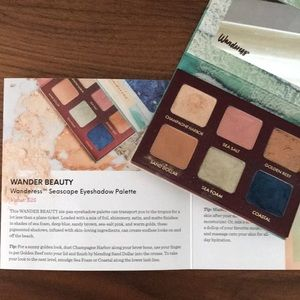 Wander beauty seascape eyeshadow palette Ipsy